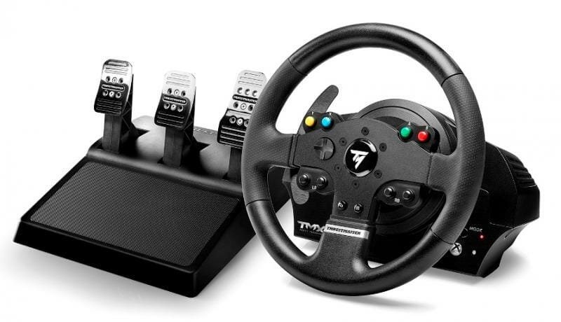 TMX Pro Steering Wheel and Pedals