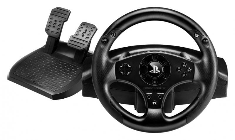 Thrustmaster T80 Steering Wheel and Pedals