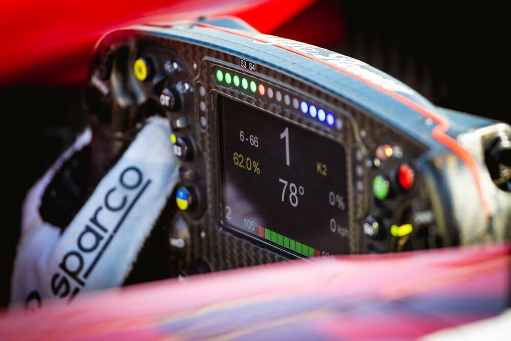 F1 steering wheel for sim racing