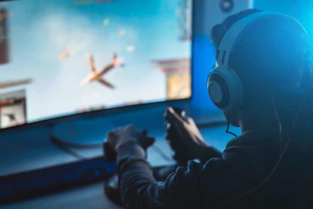 Monitors for flight sim
