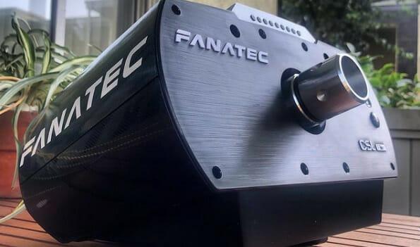 Fanatec CSL Elite Wheel Base Close Up
