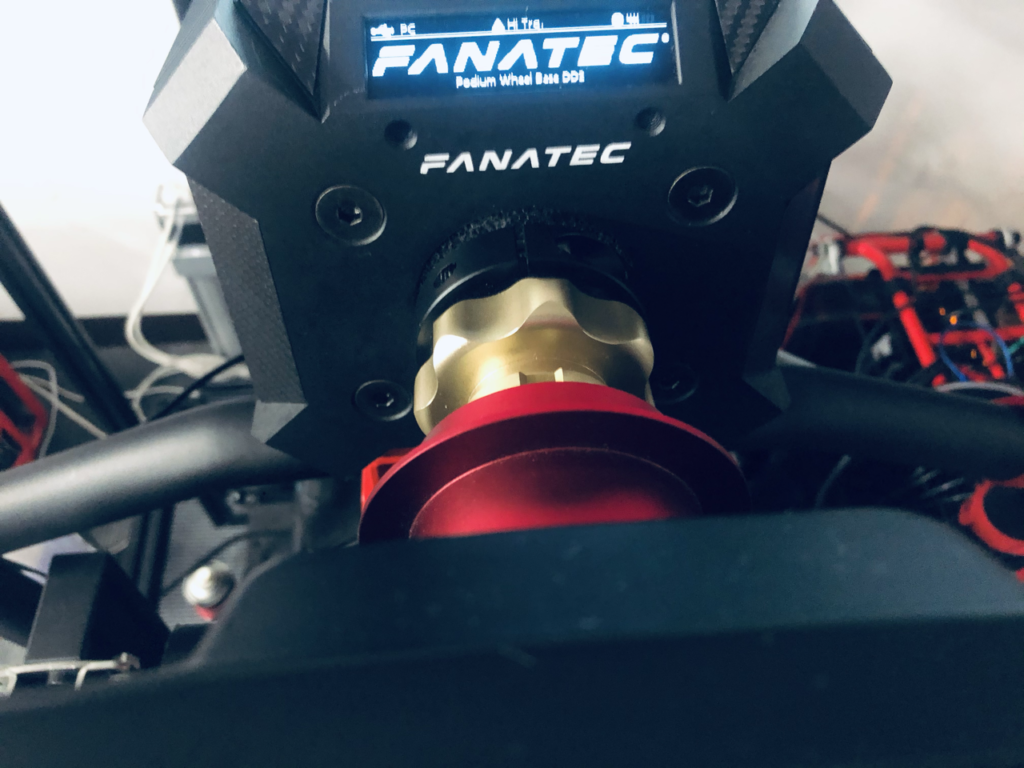 Fanatec DD2 Wheel with Carbon Plates
