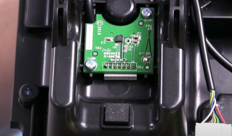 Hall effect sensor in Thrustmaster T-LCM pedals